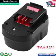 New 12v Battery Hpb12 3.6ah Ps130 Fsb12 Fs120bx For Black And Decker Power Tools