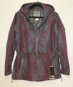 Boulder Gear Womens Caprice Pullover Esprit Winter Jacket Maroon And Blue Size Med