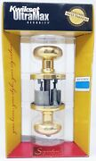 Kwikset 730h Bright Brass 1 Case Home House Privacy Lock 6 Total Locks Wholesale