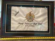 Autographed Donald Trump President Of The United States. Autographed Flag