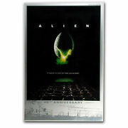 2019 Perth Mint Alien 40th Anniversary 35g Silver Foil Movie Poster - 1,000 Made