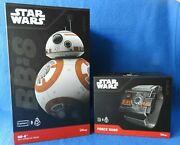 Star Wars Sphero Bb8 Droid Apple Ios Android Device App Enabled + Force Band New