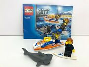 Lego City 60011 Surfer Rescue Complete With Instructions No Box