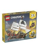Lego Creator 3in1 Pirate Ship 31109 Building Playset1260 Pieces