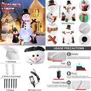 6ft Christmas Inflatables Outdoor Decorations Blow Up Snowman Penguins Inflata