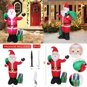 Lovezone 6ft Outdoor Inflatable Christmas Decorations - Built-in Led Lights Blow