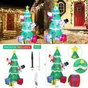 Lovezone 7ft Outdoor Inflatable Christmas Decorations - Built-in Led Lights Blow