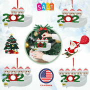For 2020 Personalized Christmas Ornament Xmas Hanging Ornaments Family Gifts Usa