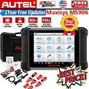 Autel Maxisys Ms906 Obd2 Scanner Full-system Diagnostic Scan Tool Active Test