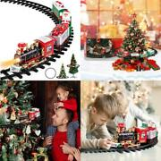 Super Joy Christmas Train Set - Toy Train Set With Lights And Sounds, Round Rail