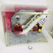 Disney Alice In Wonderland Queen Of Hearts Ring Stand Accessory Case Figure F/s