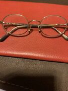 Perry Ellis Glasses Sold For Frames Only Silver Rims And Tortoise Shell Stems