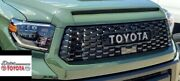 Toyota Trd Tundra Pro Grille With Hood Bulge Army Green Paint Code 6v7 2019-2021