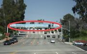 Los Angeles Dodgers Welcome Banner Entrance To Stadium, Very Rare