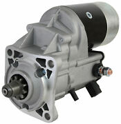 New 12v Cw 10 Tooth 2.7kw Starter Fits Perkins Marine Diesel Engine Mp10237
