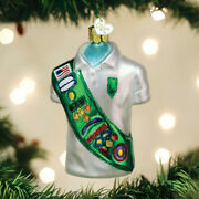 Old World 32449 Girl Scout Uniform Ornament