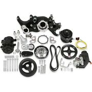 Holley 20-185bk Ls Mid-mount Complete Accessory Drive Kit Fits All Ls Engines Ex
