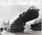 1970 Russian Ss-15 Scrooge Icbm May Day Parade Moscow 8x10 Original News Photo