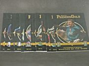 1997 Merlin Premier Gold Masters Of The Game 15 Card Insert Set Impossible Find
