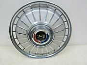 1962 Ford Galaxie Oem 14 Stainless Steel Hubcap / Wheel Cover C2az-1130c P35-1