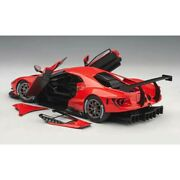 Auto Car- Ford Gt Lm Plain Body Version 2018 118 Size New Diecast