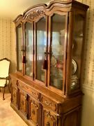 Lighted China Cabinet -thomasville Camille Dining Roomandnbsp