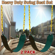 2x Swing Seat Set Playground Kids Outdoor Support 660lb Accessories Replacement