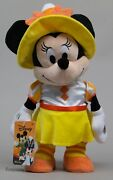 Halloween Disney 13 In Minnie Mouse Candy Corn In Plush Play Music Move Dancer