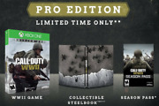 Call Of Duty Wwii Pro Edition - Microsoft Xbox One [action Shooter Collectible]