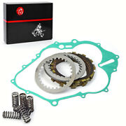 Clutch Kit Heavy Duty Springs And Cover Gasket For Yamaha Raptor Yfm660r 2001-2005