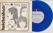 The Beatles - Watching Rainbows - Rare Luxembourg E.p. 7 Blue Vinyl Record 1977