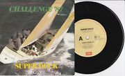 Super Duck Galapagos Duck - Challenge '87 - 7 45 Vinyl Record W Pict Slv - 1986