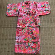 Kimono Girl Visiting The Shrine Japanese Baby Event With Socks Store At Home