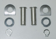 Harley 2001 Later Footpeg Mounting Pins Male Mount Style Stainless Steel