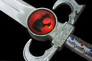 Sword Of Omens Deluxe Thundercats The Lion Replica Blade W/leather Sheath Weapon