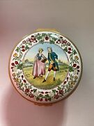 Halcyon Days Strawberry Fair Large Music Box England Limited Edition 286 / 500