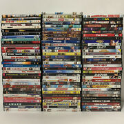 Lot Of 98 Dvds Action Adventure Drama Comedy Romance Cartoons Thriller