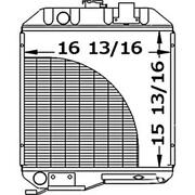 219929 Tractor Radiator 15-3/4 X 16-1/2 X 1-3/16 - Fits Ford/fits New Holland