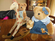 Boydand039s Bear Hayley With Austin And Stretch 919828 Rocking Giraffe And 2 Bears