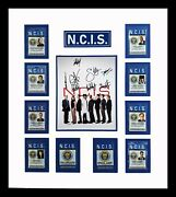 Ncis Cast Signed Photographs With Id Cards Matted And Framed Ready To Hang