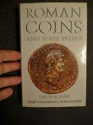 Roman Coins And Their Values By David Sear 1970 Used Condition Sku 19688