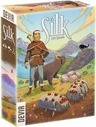 Silk Board Game [devir Games Animal Farming Dice Roll Worker Placement] New