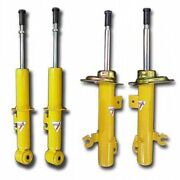 Koni Yellow Adjustable Sport Shocks Front And Rear Set 01-06 Bmw M3 Coupe And Conv