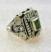 Secret Compartment With Opening Poison Sterling Silver Ring