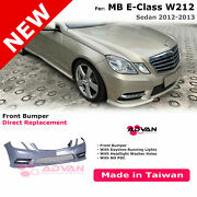 Front Bumper Cover Amg-sport Facelift Style For Mercedes Benz E-class W212 12-13