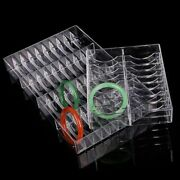 Acrylic Jewelries Display Rack Holder For Bracelet Chain Necklace Organizer Hard