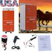 10km Animals Livestock Ranch Fence Controller Sheep Horse Electric Fence Charger