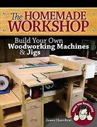 Homemade Workshop Build Your Own Woodworking Machines And Jigs, Paperback By ...