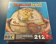Tdc Games Jigsaw Ball Spherical Antique 9 3d Globe Puzzle 212 Pieces Brand New