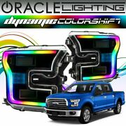 Oracle Dynamic Colorshift Headlight Drl Halo Kit For 2015-2017 Ford F-150